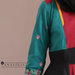 75 Abaya Dress Bordir Maroon - detail b