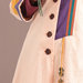 81 Abaya Modern Frill - detail a