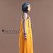 82 Abaya Modern Kuning - kanan