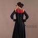 90 Abaya Dress Elegan Bordir - belakang