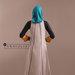 92 Abaya Cantik Elegan - belakang