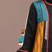 93 Abaya Modern Kuning Motif - detail b