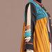 93 Abaya Modern Kuning Motif - detail a