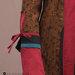 94 Abaya Cantik Elegan Coklat - detail a
