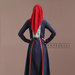 96 Abaya Dress Navy - belakang